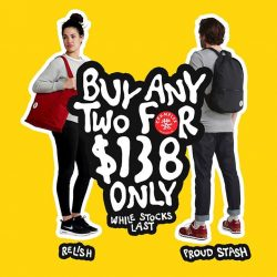 Crumpler: Buy any 2 of the Relish and Proud Stash for $138 only