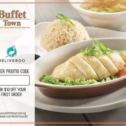 Buffet Town: $10 OFF First Order at Deliveroo