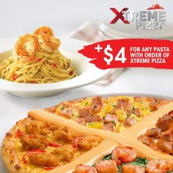 Pizza Hut: Enjoy any pasta at just $4 with any Xtreme Pizza ordered