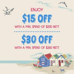 Cath Kidston: Great Singapore Sale Up to $30 OFF