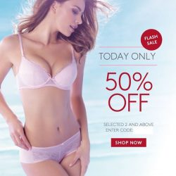 Triumph: Flash Sale - 50% OFF Selected 2 and above Fashion Bras