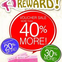 Bee Cheng Hiang: Voucher Sale more than 40% more!