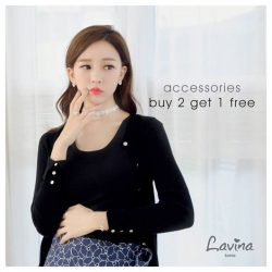 Lavina: Accessories Promotion - Buy 2 Get 1 Free