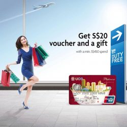 UOB: UnionPay Global Airport Fiesta Promotion - Get $20 Voucher with min. $450 spend at all participating airports
