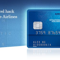 Credit Card Recommendation: The American Express® Singapore Airlines KrisFlyer Credit Card