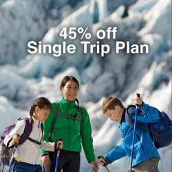 Standard Chartered Bank: 45% OFF Single Trip Enhanced Travel Protector Plan underwritten by MSIG