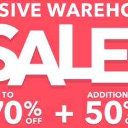 HipVan: First Ever Massive Warehouse Sale Up to 70% OFF + Additional 50% OFF
