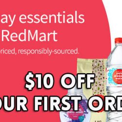 Redmart: Coupon Code for $10 OFF Your First Order