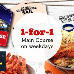 Fish & Co: 1-for-1 Main Course Weekday Promotion at Glass House Park Mall