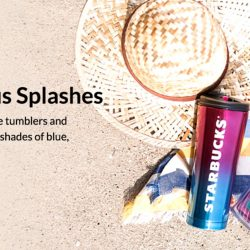 Starbucks: NEW Aqualicious Splashes Collection