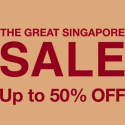 MUJI: Great Singapore Sale Up to 50% OFF + Coupon Code for $10 OFF