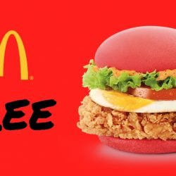 McDonald's: FREE à la carte Super Red Burger with every purchase of a Super Red Extra Value Meal™