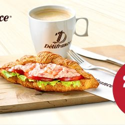 Delifrance: 20% discount by flashing NTUC membership card for any a-la-carte orders