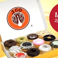 J.Co Donuts & Coffee: Enjoy 2nd Box of Donuts at Half Price on Weekdays