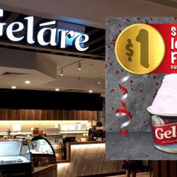 Gelare Café: $1 Single Scoop Ice Cream at Capitol Piazza