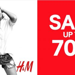 H&M: GSS Sale now up to 70% OFF Selected Items