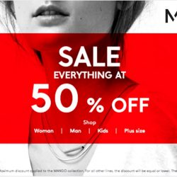 Mango: Storewide Sale 50% OFF in stores and online!