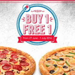 Domino's Pizza: Coupon Codes for Buy 1 Get 1 FREE Pizza