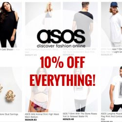ASOS: Coupon Code for 10% OFF EVERYTHING!