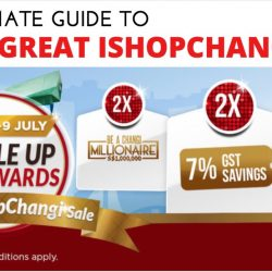 iShopChangi: Your Ultimate Guide to GSS - How to Enjoy 2X GST Savings & Up to 50% Over 100 Deals!