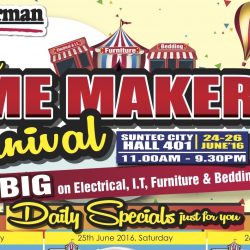 Harvey Norman: 1st Ever Home Maker Carnival
