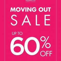 Lapalette: Suntec City's Moving Out Sale Up to 60% OFf