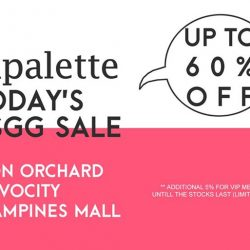Lapalette: GSS up to 60% OFF + Additional 5% for VIPs