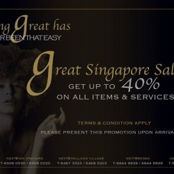 Next Salon: Great Singapore Sale Up to 40% OFF on all items & services