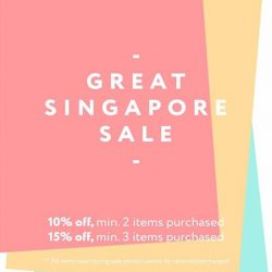 LOVE AND BRAVERY: GSS Sale up to 15% off