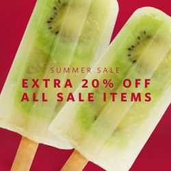 Esprit: Summer Sale continues! Extra 20% OFF All Sale Items