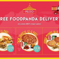 Pezzo Pizza: Free Delivery for pizzas & new Combo meals