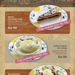 Saizeriya: New Promotion Menus at Selected Outlets