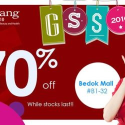 sOmang: GSS sale with up to 70% off on selected products