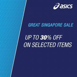 ASICS: Great Singapore Sale up to 30% off on selected items