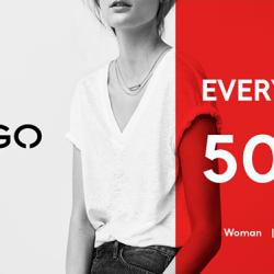 MANGO: SALE - Everything at 50% Off