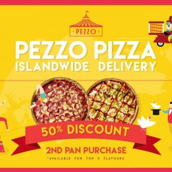 Pezzo Pizza: Enjoy 50% off your 2nd pan of pizza