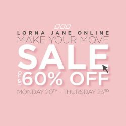 Lorna Jane: Make Your Move Sale up to 60% OFF