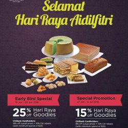 PrimaDeli: Save 25% off all Hari Raya goodies