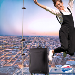 American Tourister: 30% off Sky luggage