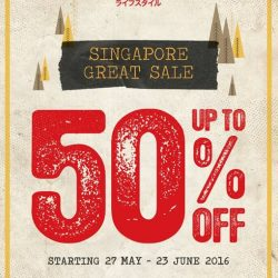 Wakai: Sale Up to 50% off till 23 June 2016