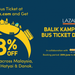 Easybook: Coupon Code for 8% OFF on All Bus Tickets Across Malaysia and Singapore