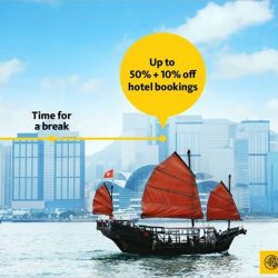 Maybank: Save up to 50%+ additional 10% at Expedia