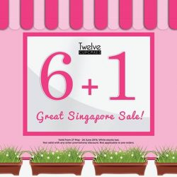 Twelve Cupcakes: Great Singapore Sale giveaway - Buy 6 and get 1 cupcake free!