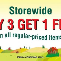 The Cocoa Trees: Storewide Buy 3 Get 1 Free Regular Priced Items promotion