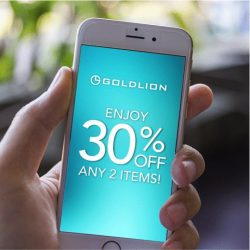 Goldlion: Enjoy 30% off with any 2 items purchase