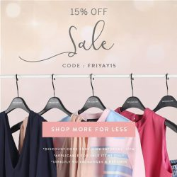 The Closet Lover: 15% off all sales items