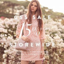 The Closet Lover: GSS Sale 15% off storewide