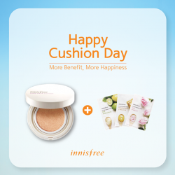 Innisfree: Cushion Day on 11 June