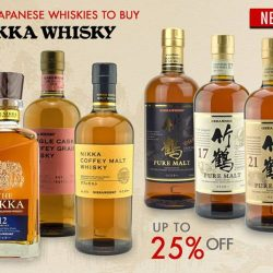 The Oaks Cellars: Top Japanese Whiskies Up to 25% OFF