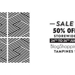 BlogShopping: Sale 50% OFF Storewide with Items Starting from $5!